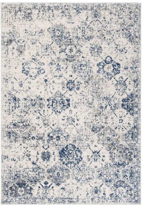 Blue Area Ophelia Co Macy White Royal Rug Blue And White Rug Area Room Rugs Blue Area Rugs