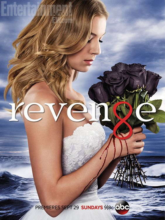 'Revenge' key art: Emily Thorne is a bloody bride -- PHOTO | Inside TV | EW.com