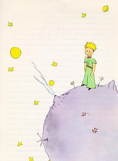Antoine de Saint-Exupéry's Le Petit Prince :) un de mes favoris!: