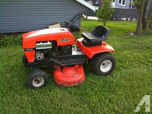 Ariens Lawn Tractor Mower Yt12 12hp Yard Tractors Tractors Repair Manuals