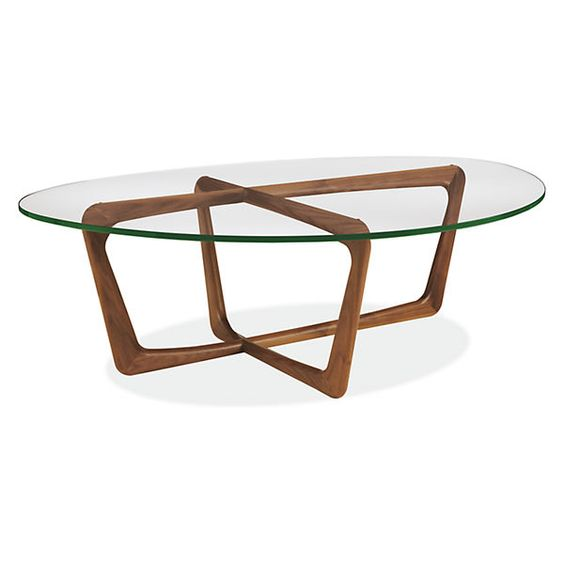 Dunn Coffee Table Mid Century Modern Accent Tables Modern