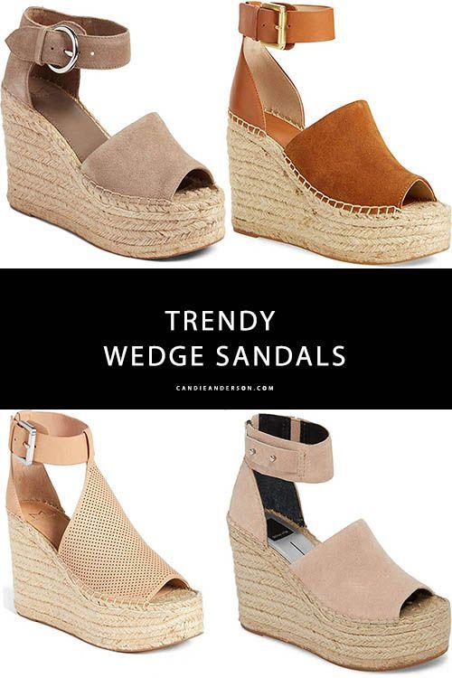17 Best Wedge Sandals Under $200