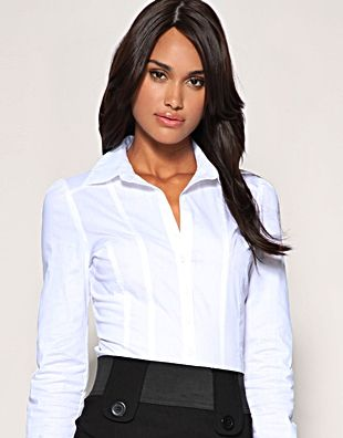 White shirt for women. http://www.formalworkattire.com/why-a-white ...