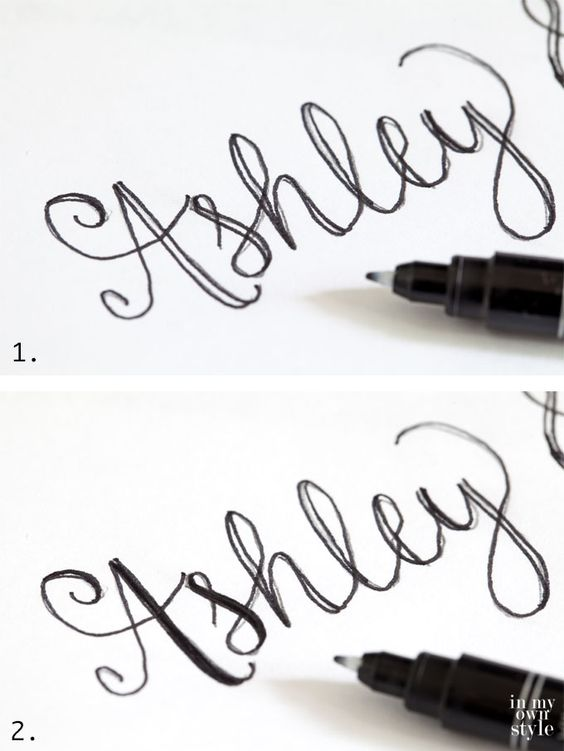 Hand lettering and handwriting on pinterest