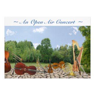 Invitación del concierto
