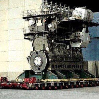 Worlds Largest Diesel Engine Wärtsilä-Sulzer RTA96-C, BHP ...