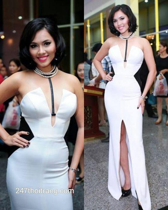 Những bộ váy dự tiệc quyến rũ của Sao Việt trên thảm đỏ 3