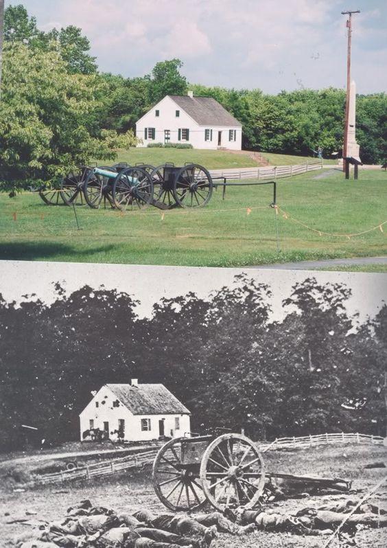 then and now civil war photos...Antietam