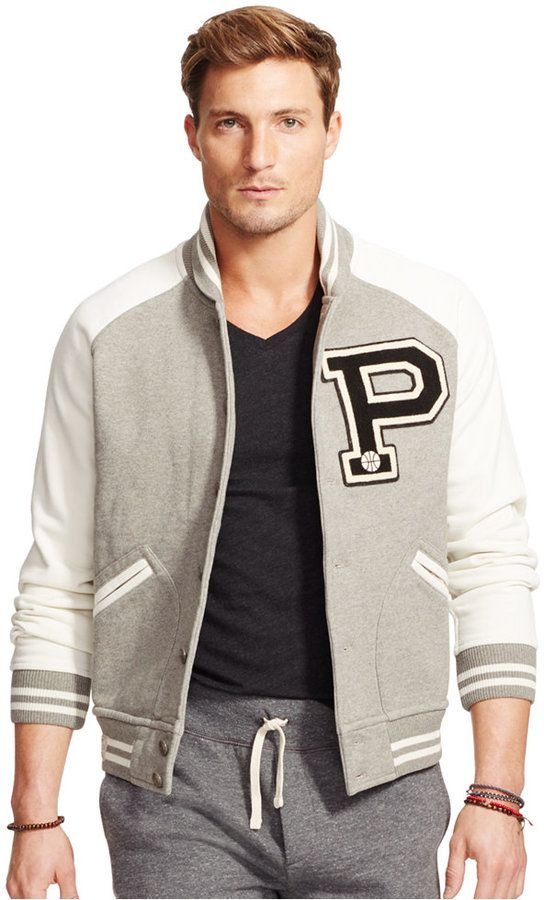 Polo Ralph Lauren Fleece Baseball Jacket | Varick is headed to ...