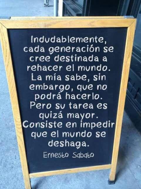 Cada generación. ..