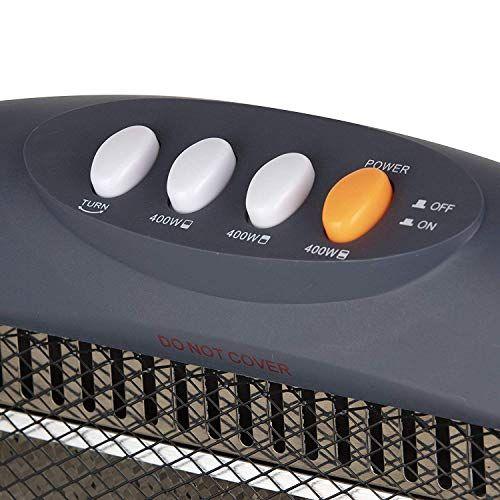 Three Bar Halogen Heater