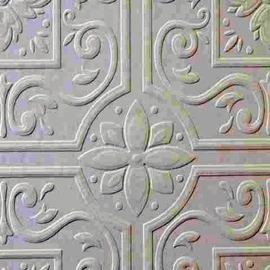 18.99 Tin ceiling, Brewster heavy textured paintable