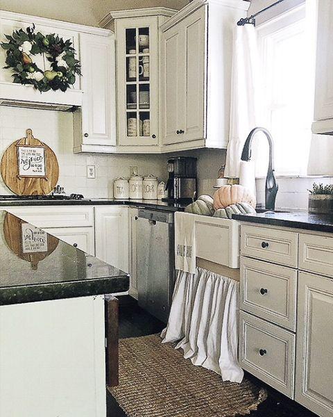 Farmhouse Style Decor Interior Design Kitchen Best Kitchen