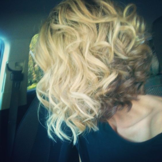 Slightly too big curls for my hair, but invertedness is cute but sophisticated