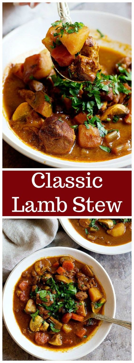This Easy Lamb Stew Recipe Is Filled With Healthy And Tasty Ingredients A One Pot Lamb Stew With Minimum Preparation Lamb Stew Recipes Stew Recipes Lamb Stew