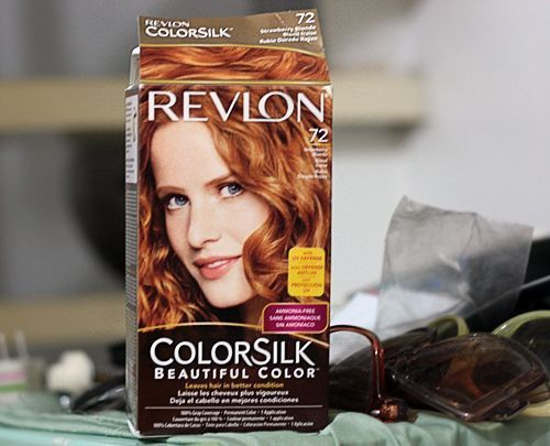 Hair Color Revlon Colorsilk 72 Strawberry Blonde Permanent Hair
