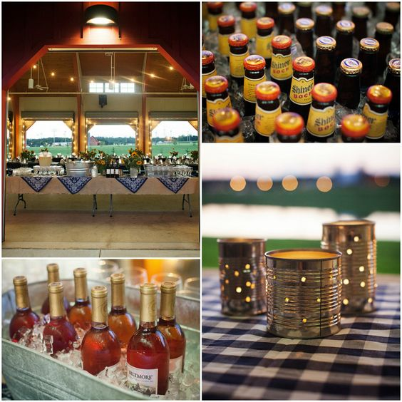 Bbq Wedding Reception Food Ideas: Rustic Barn Wedding Rehearsal BBQ