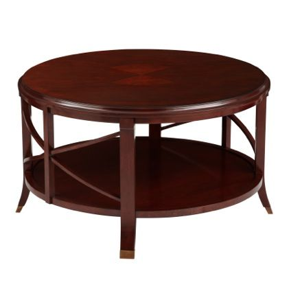 A bombay exclusive the pavilion antique mahogany coffee table is a classic cross bar and Exclusive coffee tables