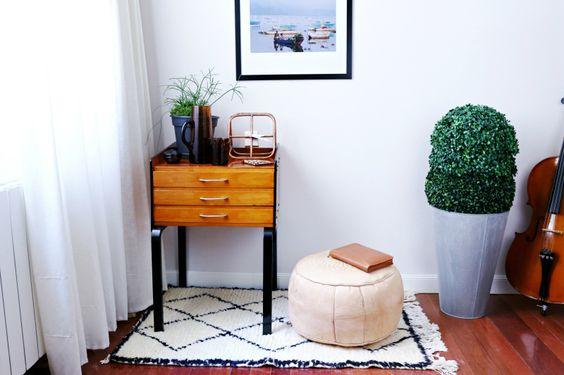 Mueble diseño mediados siglo XX DIY