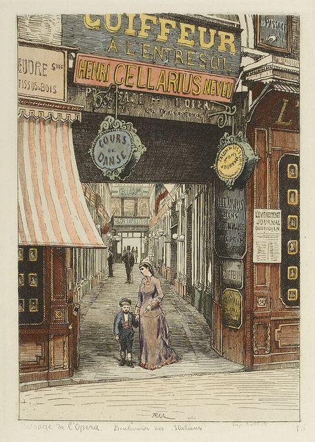 Passage de l'Opéra 1877 | Flickr - Photo Sharing!
