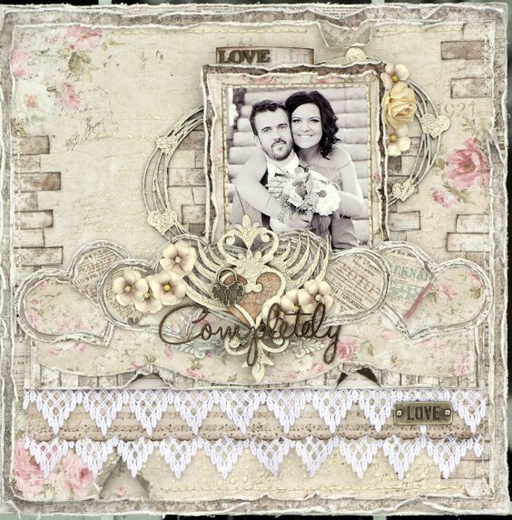 Love Completely ***Maja Design/Dusty Attic*** - Scrapbook.com