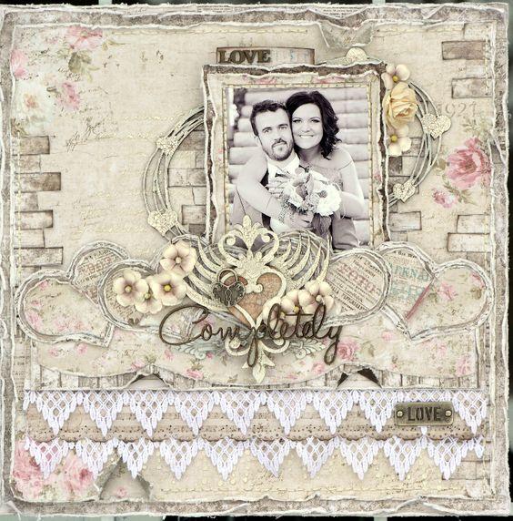 Love Completely ***Maja Design/Dusty Attic*** - Scrapbook.com