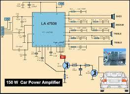 150W CAR AMPLIFIER