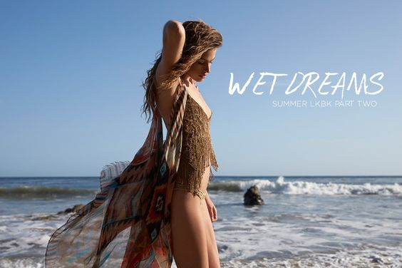 Planet Blue 'Wet Dreams' Lookbook Starring Abby Brothers-Global Intimate Wear