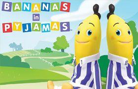 bananas in pyjammas