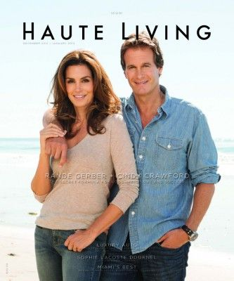Cindy Crawford & Rande Gerber Cover Miami December/January 2013
