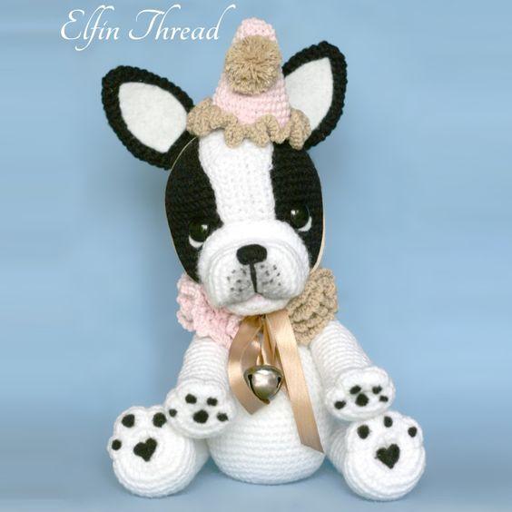 Amigurumi Bulldog Pattern : Pinterest The world s catalog of ideas