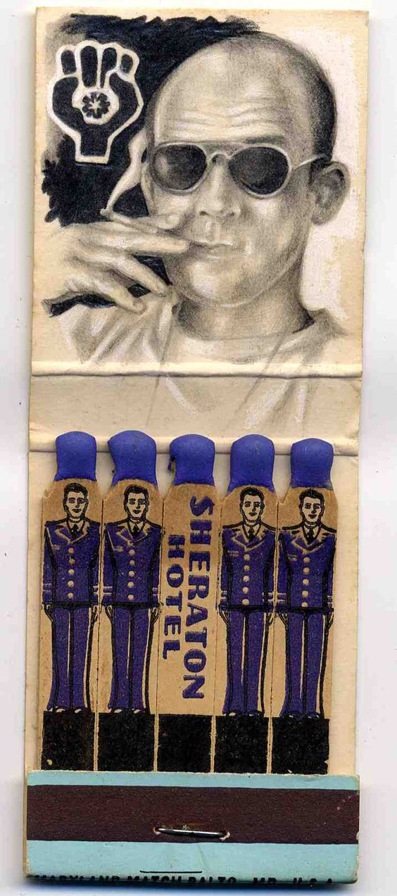 Incredible Miniature Drawings on Matchbook Covers by Jason D'Aquino