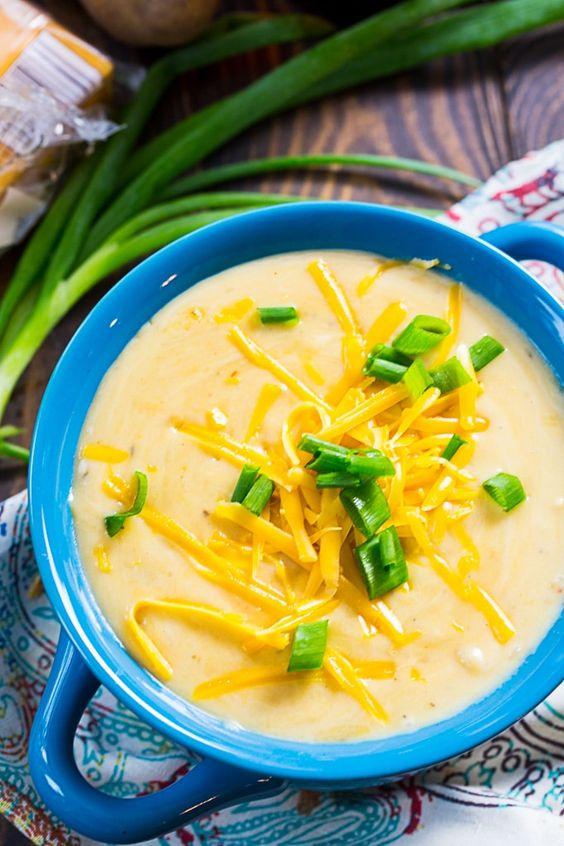 Crock Pot Creamy Potato Beer Cheese Soup