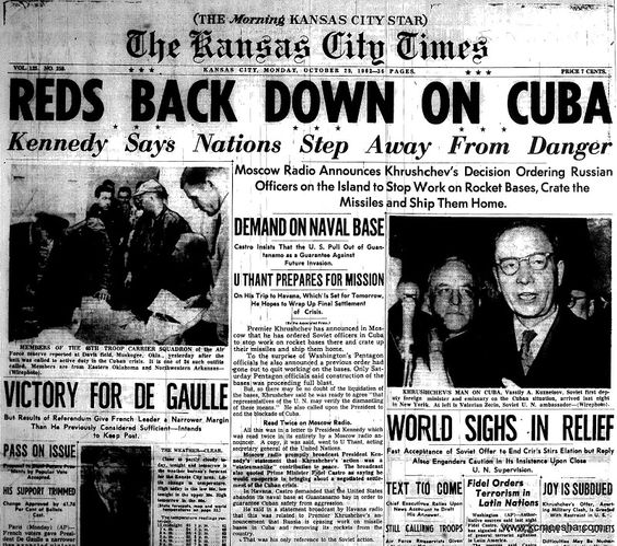 the cuban missiles crisis essay The cuban missile crisis this essay the cuban missile crisis and other 64,000+ term papers, college essay examples and free essays are available now on reviewessayscom autor: review • february 17, 2011 • essay • 2,686 words (11 pages) • 1,296 views.