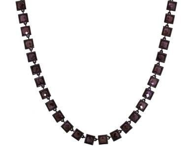 Nak Armstrong | Gray Sapphire Cashmere Gold Necklace in Necklaces Beads at TWISTonline