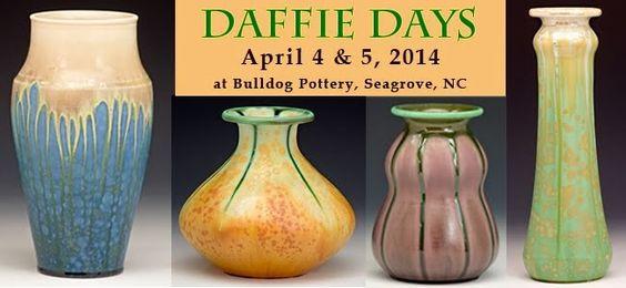 Bulldog Pottery | Daffie Days - Celebrate Spring | Samantha Henneke & Bruce Gholson | Seagrove, North Carolina