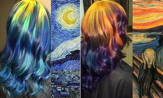 Hair Inspired by Paintings
