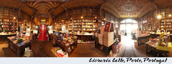 Timeline Cover Image I made of the Livraria Lello