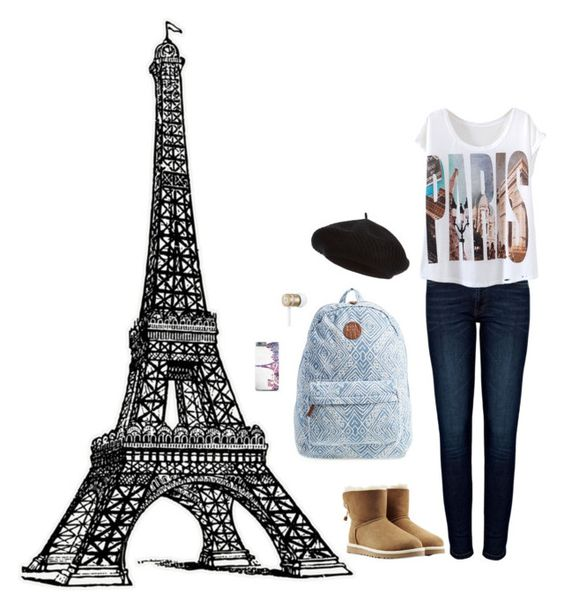 """Je T'aime"" by rubyparis10 ❤ liked on Polyvore"