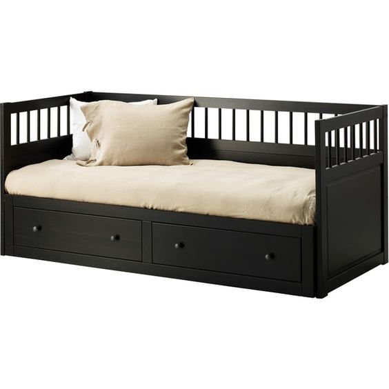 incredible day beds ikea. IKEA HEMNES Daybed Frame With 2 Drawers, Black-brown (1.250 BRL) ❤ Liked On Polyvore Featuring Home, Furniture, Beds, Bedrooms, Room, Fillers, Blac\u2026 Incredible Day Beds Ikea N