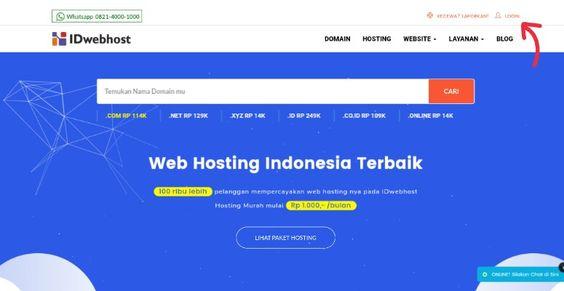 24+ Cara menggunakan web hosting info