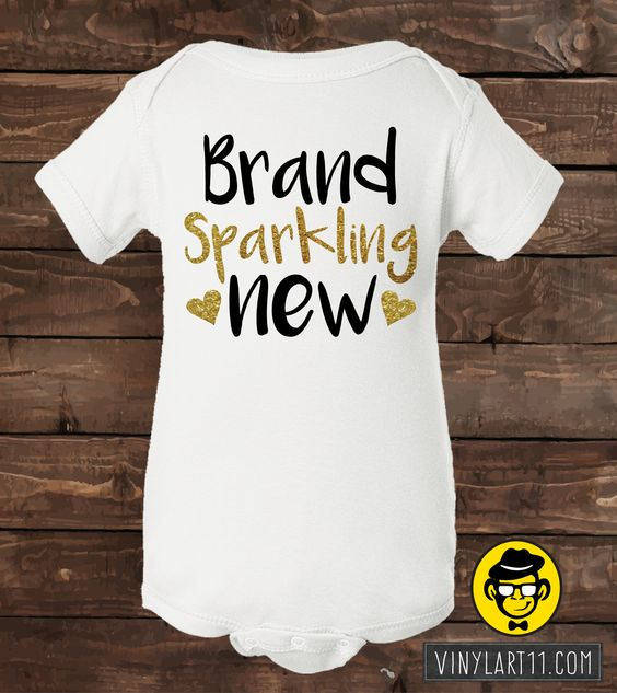 Brand Sparkling new bodysuit, Onesie Great baby gift. Long or Short Sleeve Glitter onesies. Adorable little fashion