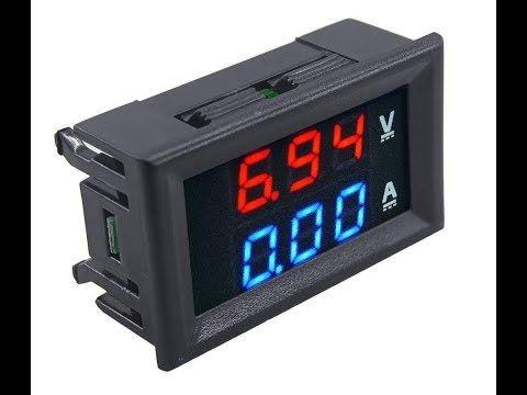 Digital Voltmeters Ammeter Full Use Youtube In 2020 Digital Digital Alarm Clock Clock