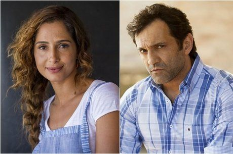Camila Pitanga e Domingos Montagner: atores estavam juntos em rio no momento do…