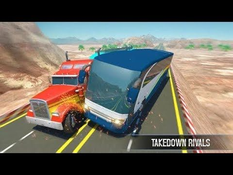 Bus Vs Truck Simulation Games 2019 Android Game Play 1