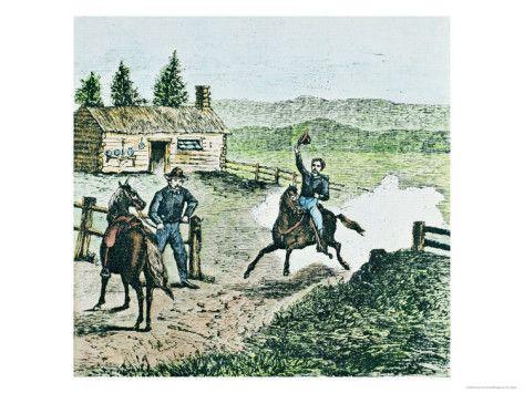 Pony Express Station Giclee Print