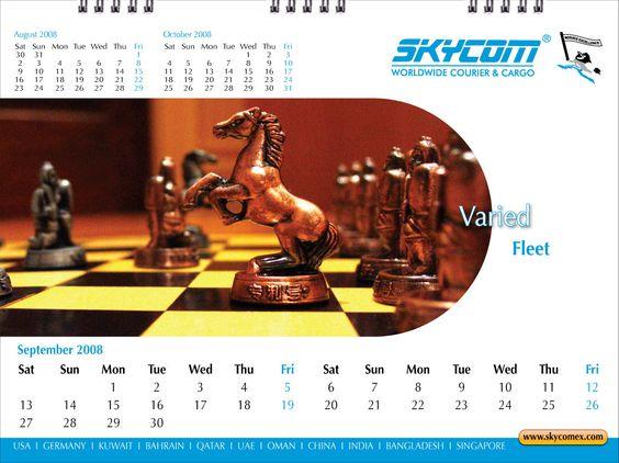 Desktop Calendar - September