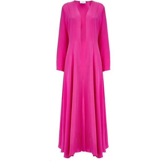 McQ Alexander McQueen Women's Kimono Coat - Shocking Pink (£327 ...