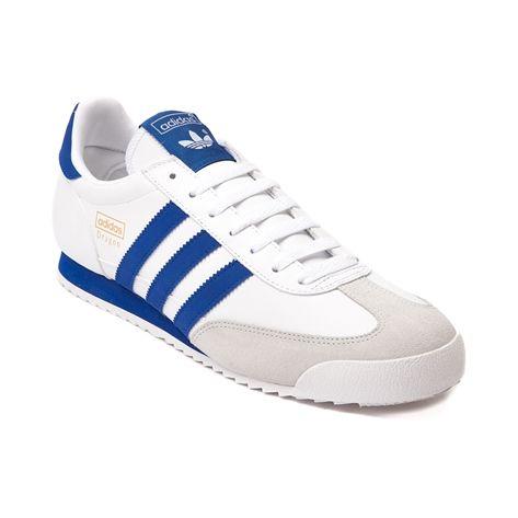 adidas dragon mens trainers blue
