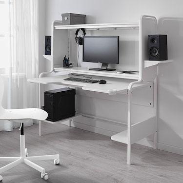 Fredde White Desk Ikea Gaming Desk Ikea Gaming Desk Gaming Desk Designs